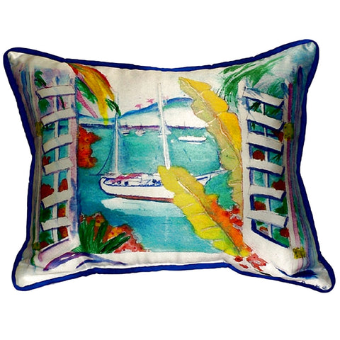 Bay View Extra Large Zippered Indoor or Outdoor Pillow 20x24