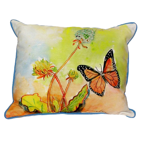 Butterfly Extra Large Zippered Indoor or Outdoor Pillow