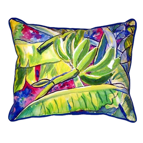 Bananas Extra Large Zippered Indoor or Outdoor Pillow 20x24