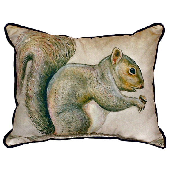 Squirrel Extra Large Zippered Indoor or Outdoor Pillow 20x24