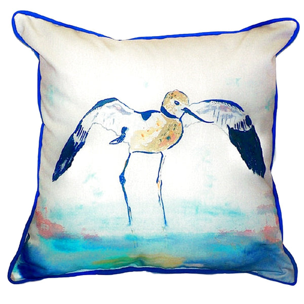 Avocet Extra Large Zippered Indoor or Outdoor Pillow