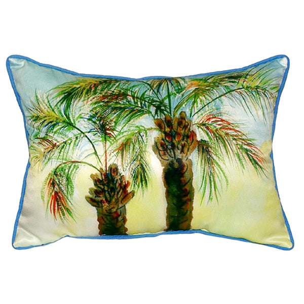 Palms Extra Large Zippered Indoor or Outdoor Pillow 20x24