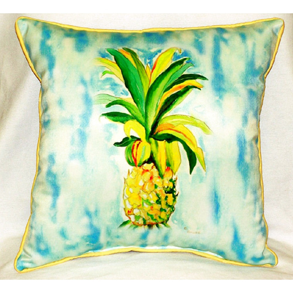 Pineapple Extra Large Zippered Indoor or Outdoor Pillow 22x22