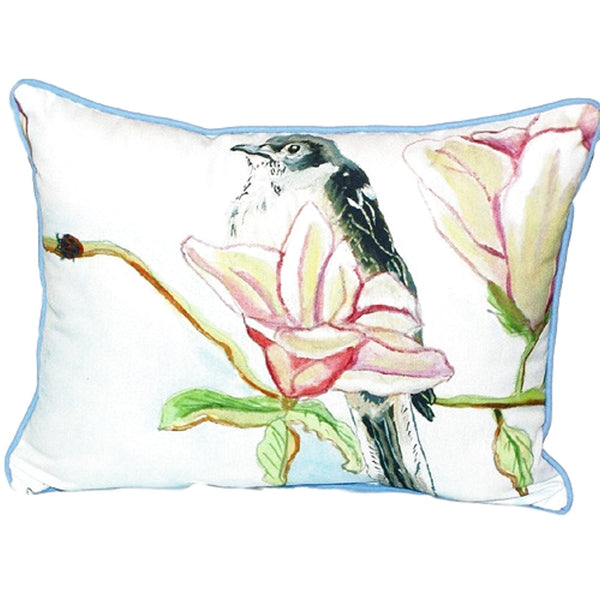 Mockingbird Extra Large Zippered Indoor or Outdoor Pillow 20x24