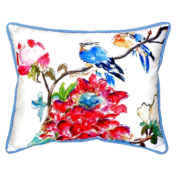 Camelia Extra Large Zippered Indoor or Outdoor Pillow 20x24