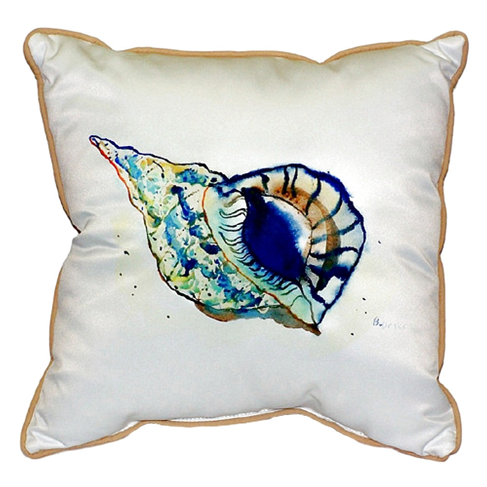 Shell Extra Large Zippered Indoor or Outdoor Pillow 22x22
