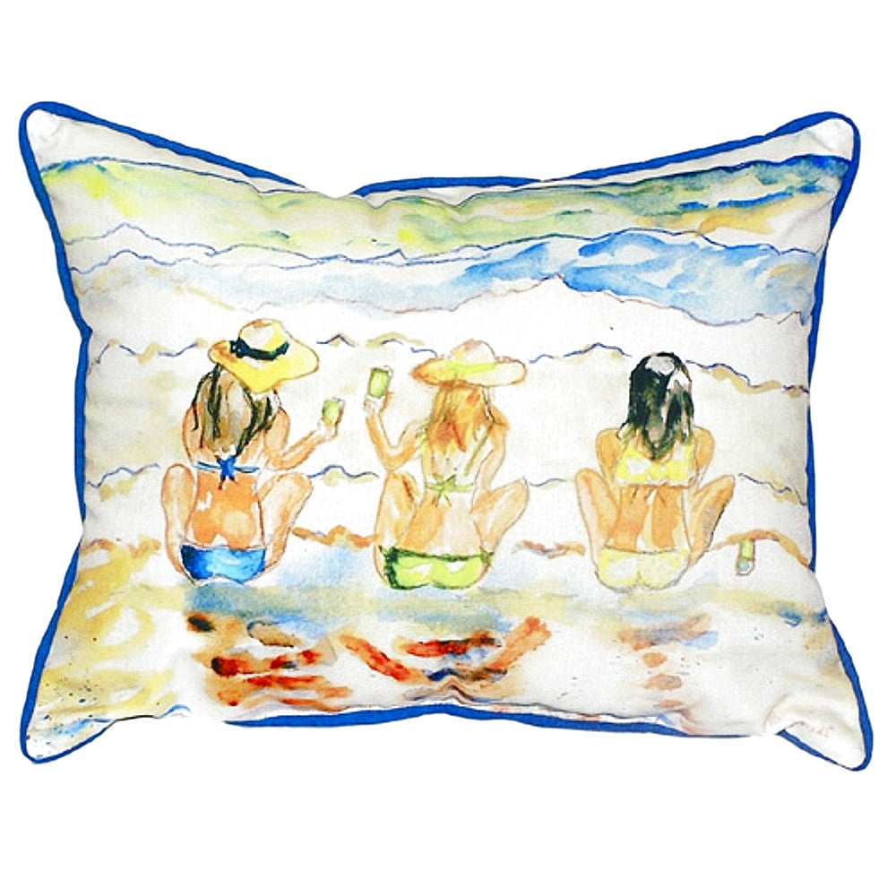 Bottoms Up Extra Large Zippered Indoor or Outdoor Pillow
