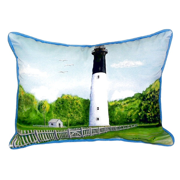 Hunting Island Extra Large Zippered Indoor or Outdoor Pillow 22x22