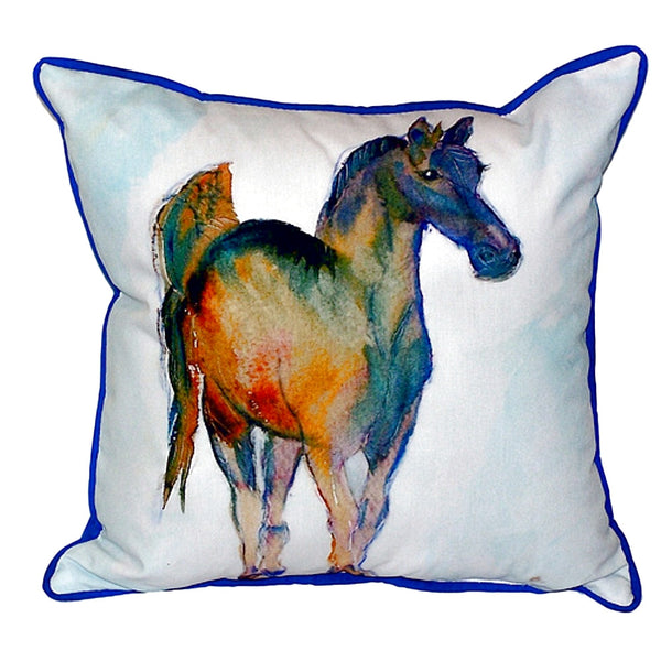 Colt Extra Large Zippered Indoor or Outdoor Pillow 22x22