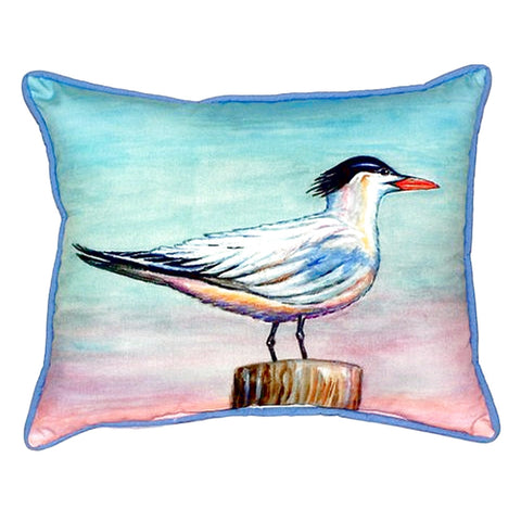 Royal Tern Extra Large Zippered Indoor or Outdoor Pillow 20x24