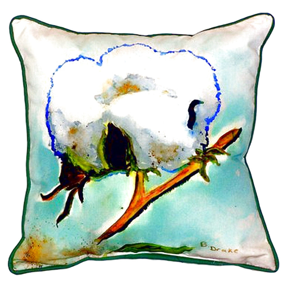 Cottonball Extra Large Zippered Indoor or Outdoor Pillow 22x22