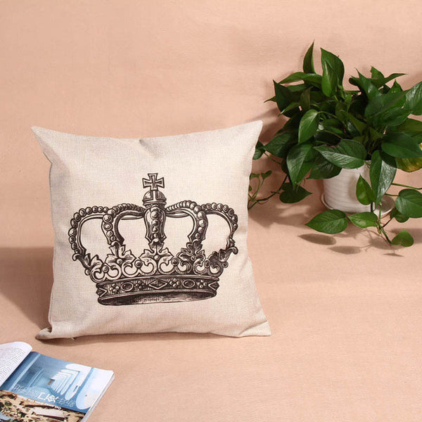 British Inspired Linen Pillow Cases