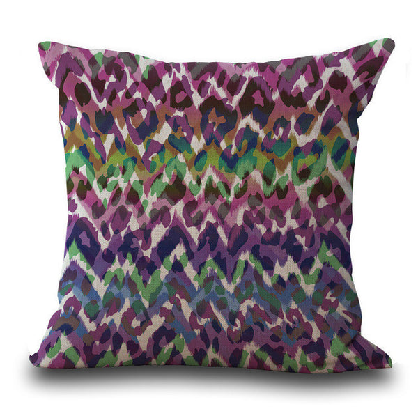 Abstract Diamond Pattern Pillow Cases