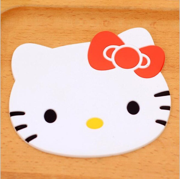 Hello Kitty Silicon Nonslip Coaster for Cups and Glasses