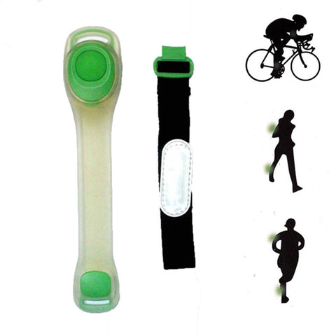 Arm Band : LED Safety Light Band - Green