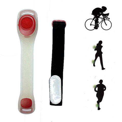Arm Band : LED Safety Light Band - Red