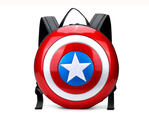 Bags : Captain America Shield Backpack Black