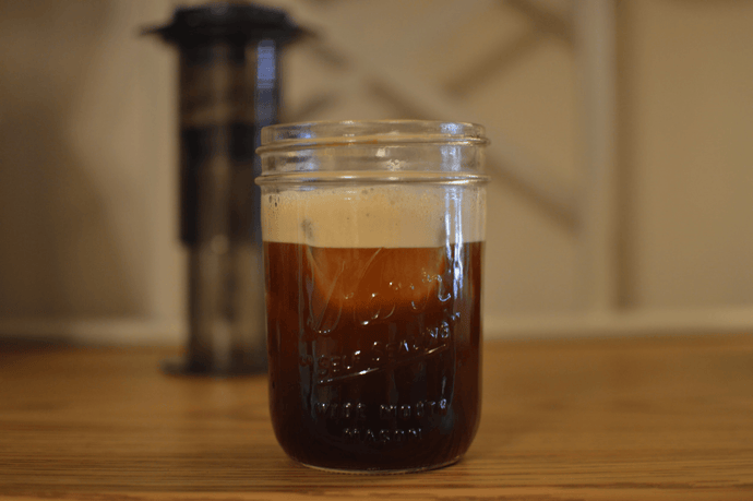 A Recipe For Shaken Iced Aeropress Coffee