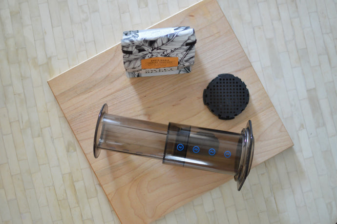 A Recipe For Creamier, Fruitier Aeropress Coffee