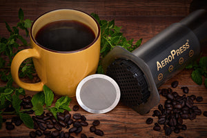 Take Your Aeropress Camping For Easy Outdoor Coffee