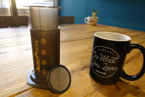 Aeropress Travel Coffee Brewer