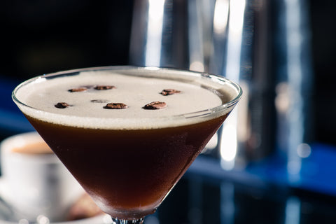 cold brew coffee martini winter