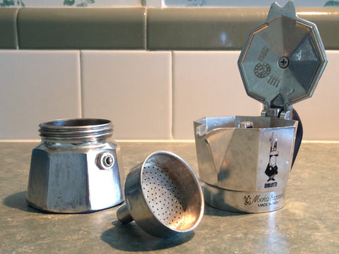 moka pot cleaning