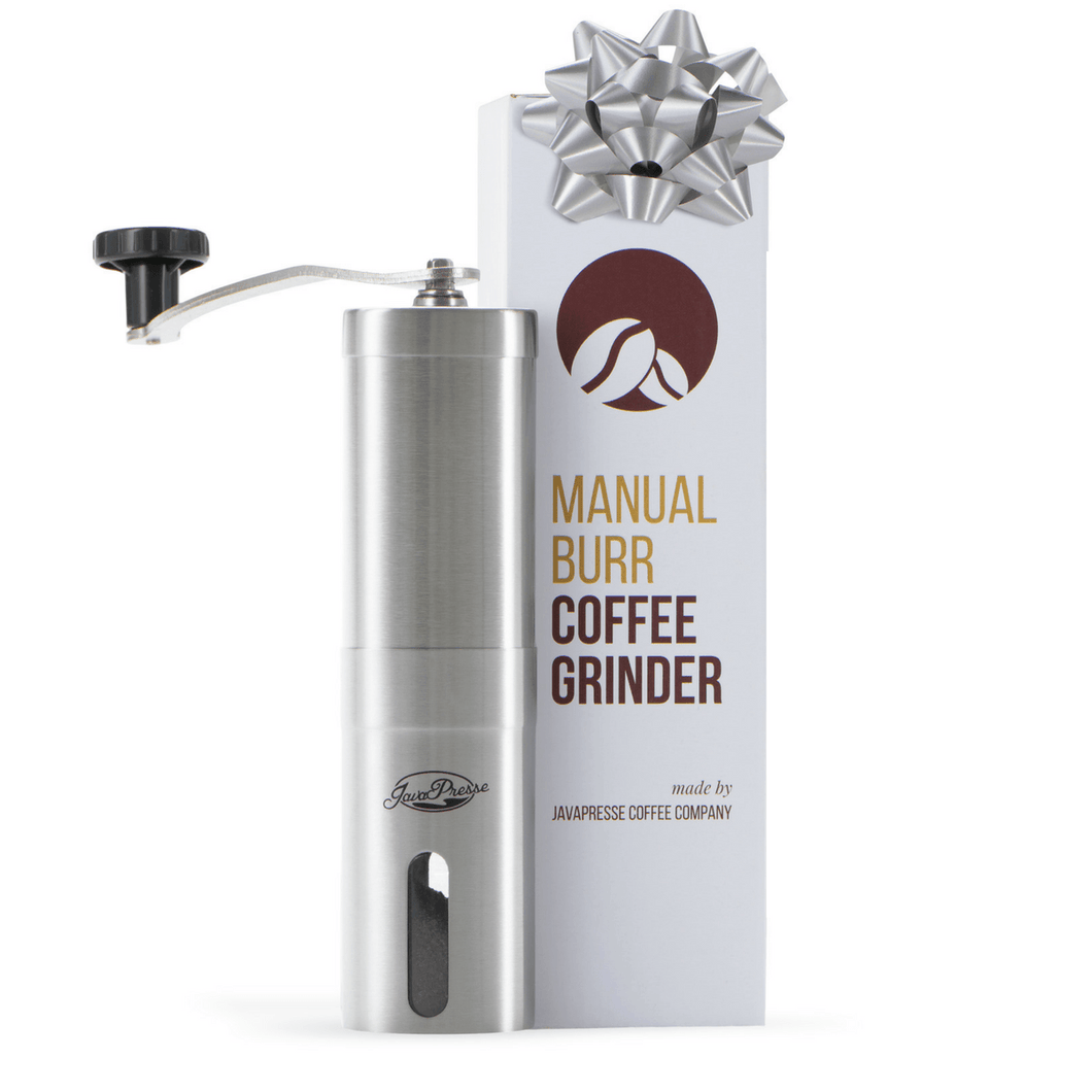 FREE Manual Burr Coffee Grinder