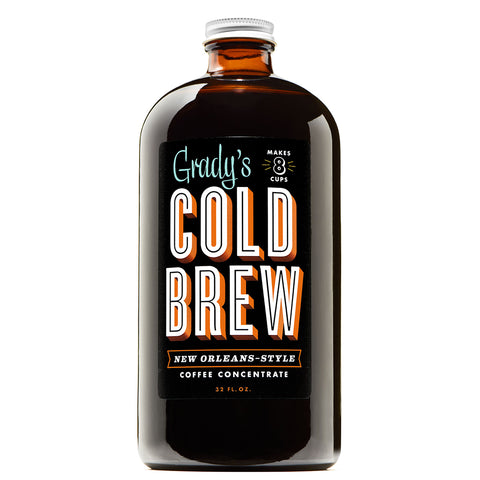 Cold Brew Coffee Concentrate - Grady's Cold Brew