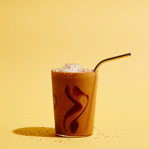 Recipe - Grady's + Fine & Raw Chocolate Shake - Grady's Cold Brew