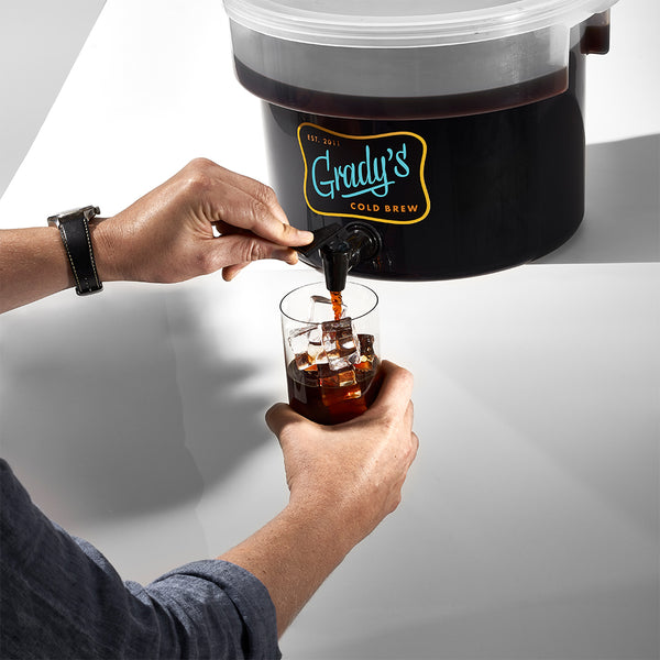 Bean Bag Food Service Kit w/ Dispenser - Grady's Cold Brew
