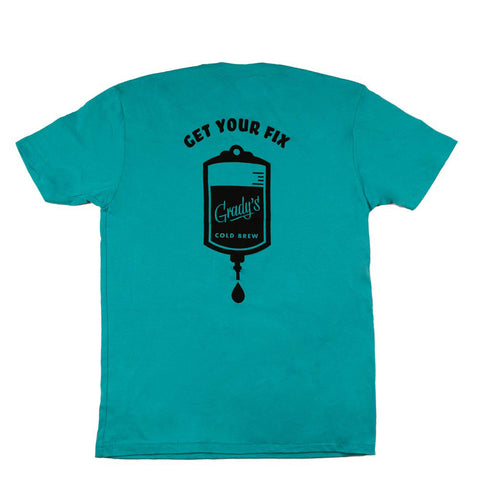 Get Your Fix Tee - Grady's Cold Brew