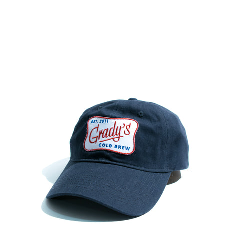 Grady's Embroidered Patch Hat - Grady's Cold Brew