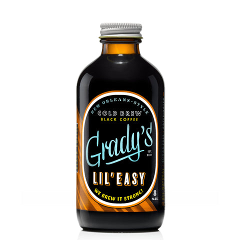Lil' Easy Ready To Drink Black Coffee (Case of 12) - Grady's Cold Brew