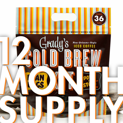 Cold Brew Kit (12 Month Supply)