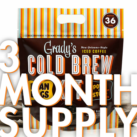 Cold Brew Kit (3 Month Supply) - Grady's Cold Brew