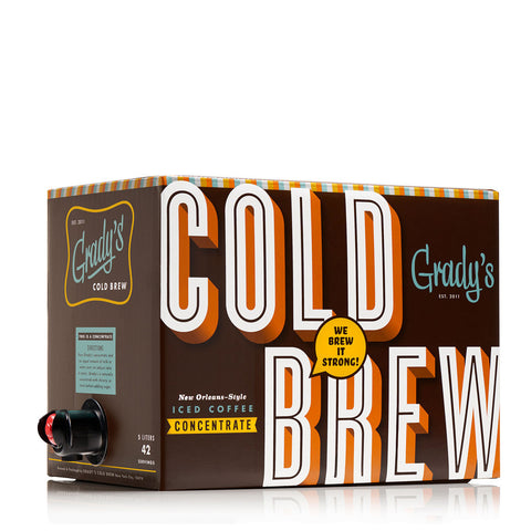 Cold Brew Coffee Concentrate Bag in Box