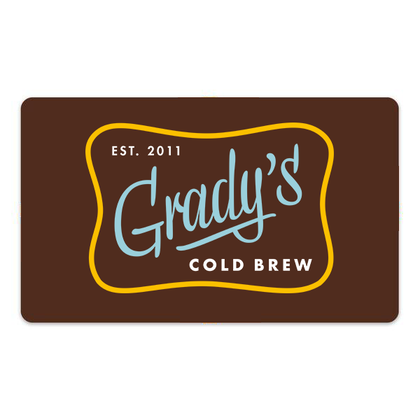 Gift Card - Grady's Cold Brew