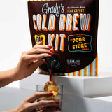 Decaf Bean Bag Cold Brew Kit - Grady's Cold Brew