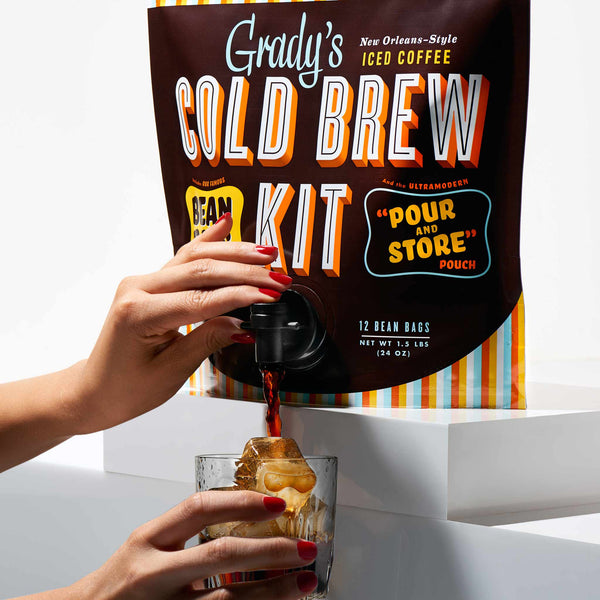 Bean Bag Cold Brew Kit