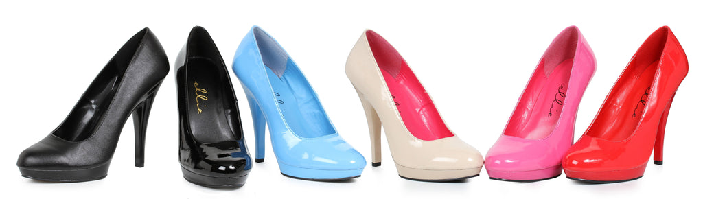 521FEMMEW Wide width 5 inch heel Stiletto Pumps By LA Kiss.com