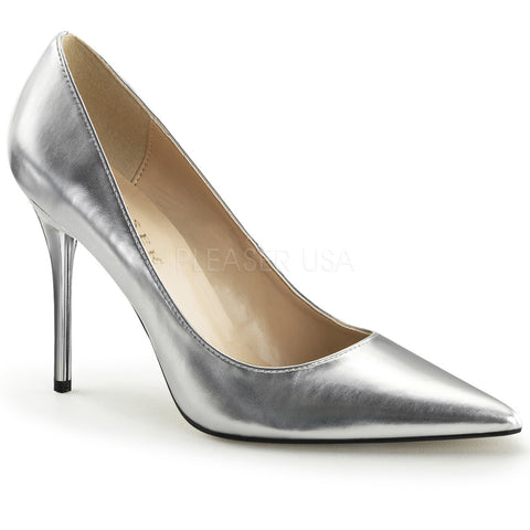 "CLAS20/W PLEASER USA BASIC PUMP 4"" HEEL BY LA KISS.COM - LA Kiss.com - 1"