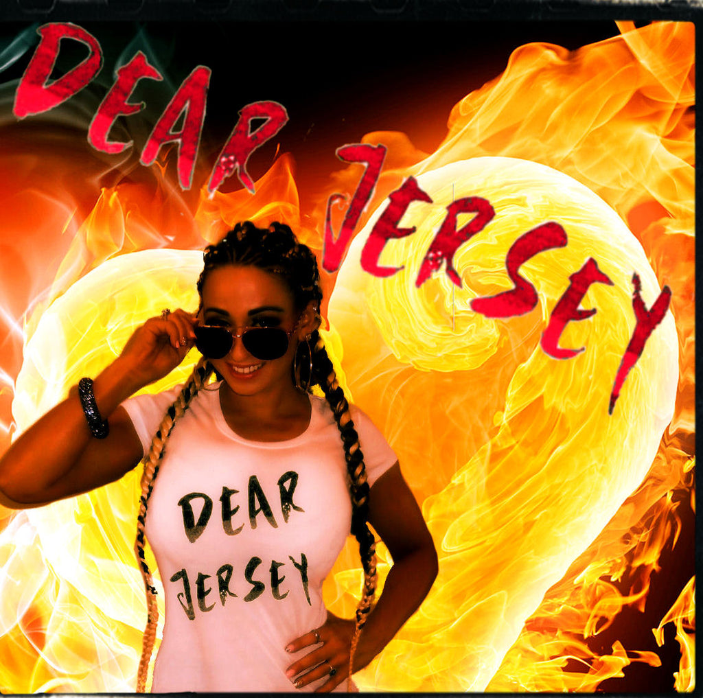"CHUBBY BRANDED STYLES ""DEAR JERSEY"" TSHIRT IN 6 SIZES, MULTIPLE COLORS BY LA KISS.COM - LA Kiss.com"
