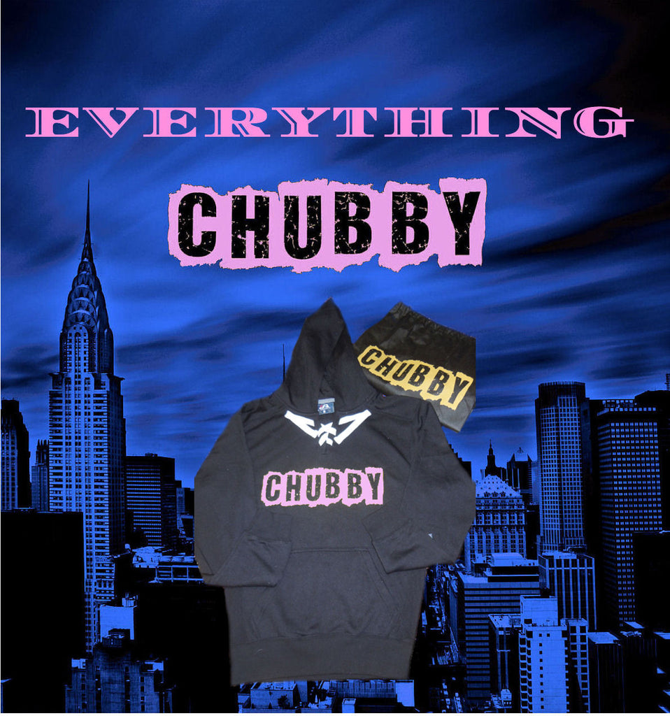 CHUBBY BRAND HOODIE & BAG IN SEXY PINK BY LA KISS.COM. CLOSEOUT 1 IN STOCK! - LA Kiss.com