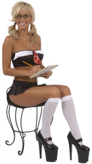 SEXY STRIPPER SEXY SCHOOL GIRL EXOTIC DANCER COSTUME TEACHER'S PET 3 PIECE SET SET BY LA KISS.COM - LA Kiss.com