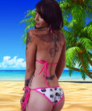 Sexy Stripper Sweet Cheeks Scrunch Butt Bikini by LAKiss.com