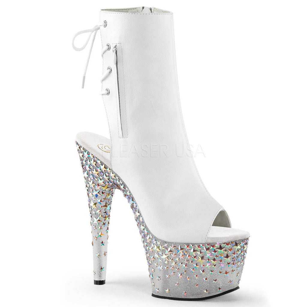"STPLASH1018-7/WPU/FT $7"" Heel, 2 3/4""  PF - LA Kiss.com"