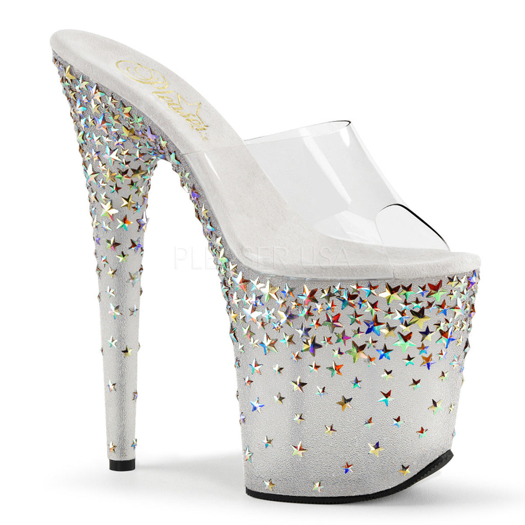 "STPLASH801/C/FT $8"" Heel, 4"" PF - LA Kiss.com"