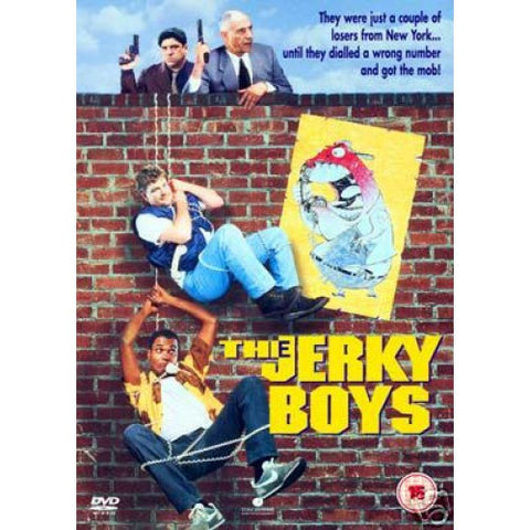 Jerky Boys The Movie, autographed DVD