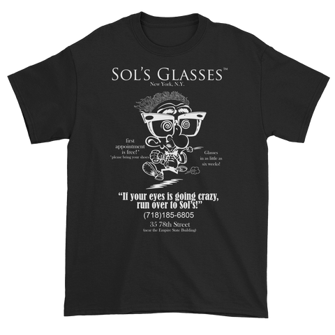 Sol's Glasses of New York (The Jerky Boys) T-Shirt (available in several colors)
